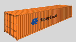 Container 40'DRY