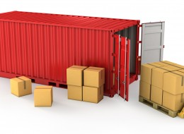 Groupage dans un container, Transports DTS, France