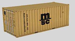 Container 20'DRY